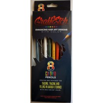 GraffEtch Original multi color 8 pc set