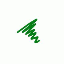 Semi  Permanent Ink Pen Green