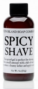 Plum Island Spicey Shave Gel