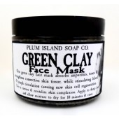 Plum Island Green Clay Mask
