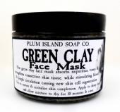 Plum Island Green Clay Mask