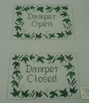 Ivy Damper Open