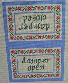 Damper Open & Closed