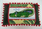 Alligator Pillow