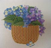 Basket of Violets