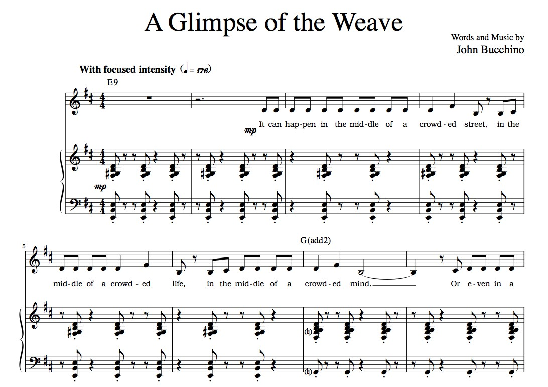 """A Glimpse Of The Weave"" [Lengthy philosophical musing] (Solo) in D"