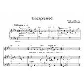 """Unexpressed"" [Wistful ballad] in E – Tenor"