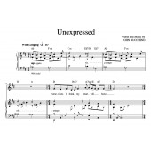 """Unexpressed"" [Wistful ballad] in D – Baritone or Soprano"