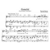 """Grateful"" [An anthem of giving thanks] in Eb – Baritone or High Soprano"
