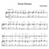 """Sweet Dreams"" [Poignant story song] in C"