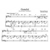 """Grateful"" [An anthem of giving thanks] in B"