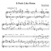 """It Feels Like Home"" [Sweet love ballad] in Bb"