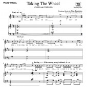 """Taking The Wheel"" (SATB)"