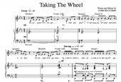 """Taking The Wheel"" [Dynamic up-tempo] in Eb – Bass-Baritone or Soprano"