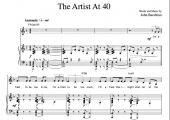 """""""The Artist At 40"""" [Neurotic up-tempo] (Solo) in F"""