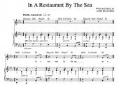 """In A Restaurant By The Sea"" [Love ballad] in Eb – Baritone or High Soprano"