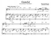 """Grateful"" [An anthem of giving thanks] in G"