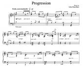 """Progression"" [Instrumental for solo piano] (""It's Only Life"" CD key) in C"