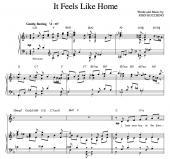 """""""It Feels Like Home"""" [Sweet love ballad] in F"""