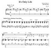 """It's Only Life"" [Bouncy, Beatlesque philosophical musing] (Solo) in G"