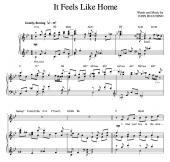"""""""It Feels Like Home"""" [Sweet love ballad] in Bb"""
