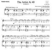 """The Artist at 40"" (SATB)"