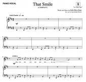 """""""That Smile"""" (SATB)"""