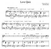 """Love Quiz"" [Reflective ballad] in D"
