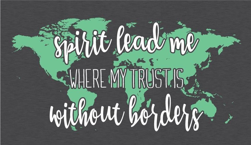 Spirit Lead Me  Women's T-shirt