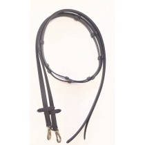 7' Beta Smooth Reins with Knobs