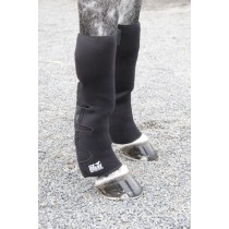 ICE HORSE KNEE TO ANKLE WRAPS WITH 12 ICE INSERTS-PAIR