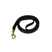 """Beta  Dog Leashes - Black. 36"""", 48"""", 60"""" and 72""""  Lengths"""