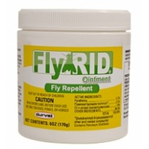 DURVET FLY RID OINTMENT FOR HORSES & DOGS