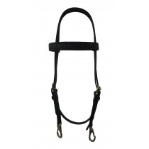 Beta Training Bridle with brass snaps