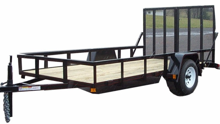 6 x 12 utility trailer for 6x12 wood floor trailer