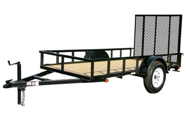 6 x 12 utility trailer for 5x10 wood floor trailer