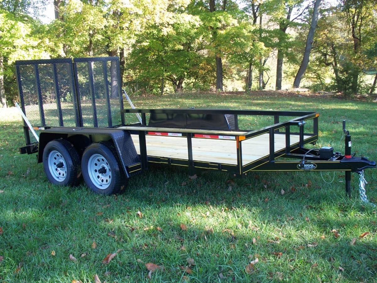 Truck Beds For Sale >> 6 x 14 utility trailer
