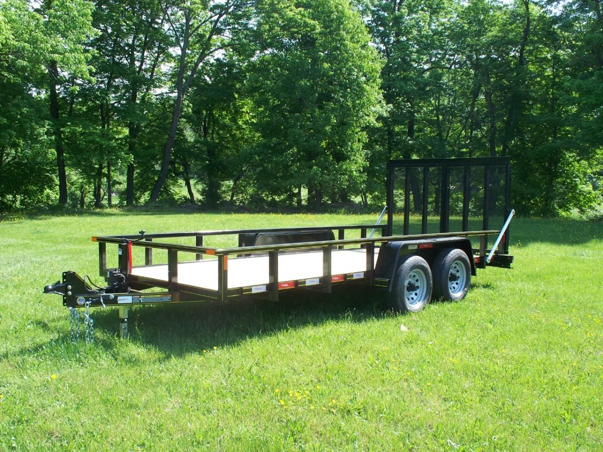 6 x 18 landscape trailer for Garden design trailer