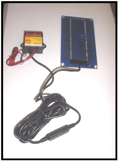 Solar Charging System For Dump Trailer