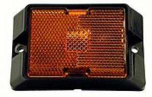 Amber Marker Light / Reflector