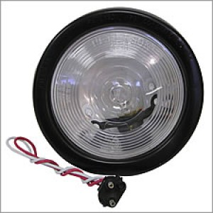 Clear Back Up Light For Trailer or Truck Bed