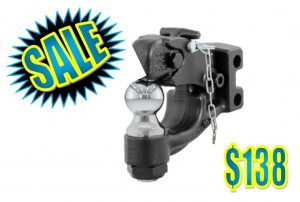 Channel Mount Ball & Pintle Combination - $138