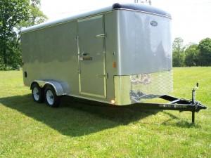 7 x 16 enclosed trailer