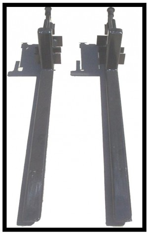 Clamp On Bucket Pallet Forks