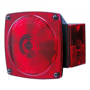 Incandescent Square Tail Light (right)