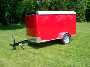 5 x 10 enclosed trailer