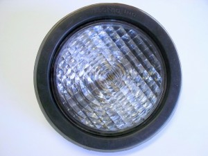 "4"" Clear Round Back Up Light"