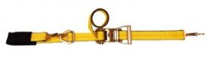 """2"""" x 6' Combination Tie Down w/ Build in axle strap."""