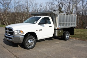 "81"" x 8.5' Aluminum Smooth Side Landscape Truck Bed w/ 34"""