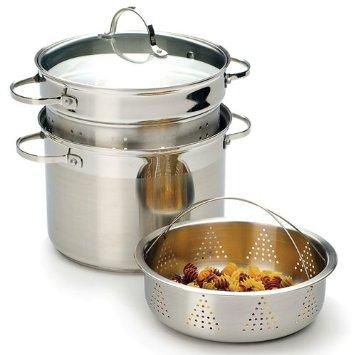 RSVP International Endurance Stainless Steel Multi-Purpose Stockpot 8-qt. - COOK-4